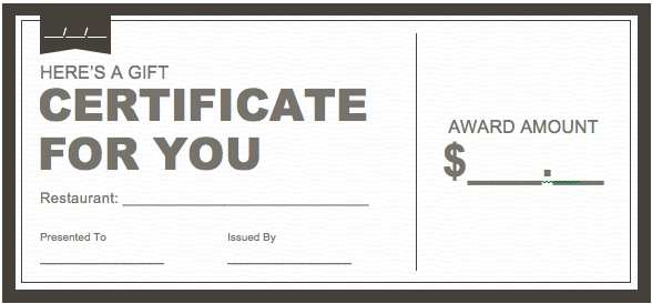 Certificate downloads free joy studio design gallery for Gift certificate template word
