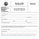 photo relating to Vsd 190 Printable Form identify Obtain Illinois Monthly bill of Sale Types