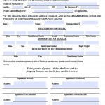Download Texas Bill Of Sale Forms Pdf Templates
