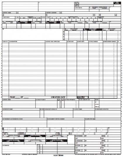 free ub 04 form pdf  Download UB-7 Claim Form   PDF
