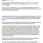 Download Texas Rental Lease Agreement Forms And Templates
