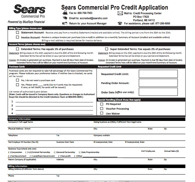 sears-credit-card-application - wikiDownload