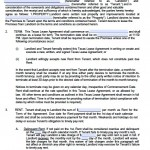 Download Texas Rental Lease Agreement Forms and Templates | PDF ...