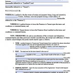 Download Alabama Rental Lease Agreement Forms And Templates Pdf