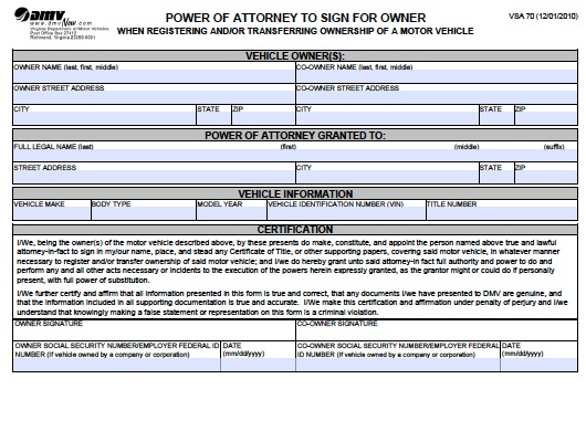 Maryland Car Registration >> Download Kansas Power of Attorney Forms and Templates wikiDownload