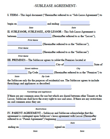 Download Delaware Rental Lease Agreement Forms And