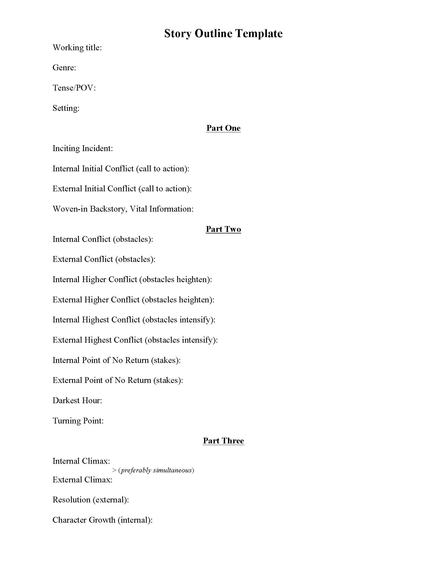 Writing Plot Worksheets A Writing Vice – Plot Outline Worksheet