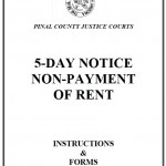Download Arizona Eviction Notice Forms - PDF Templates wikiDownload