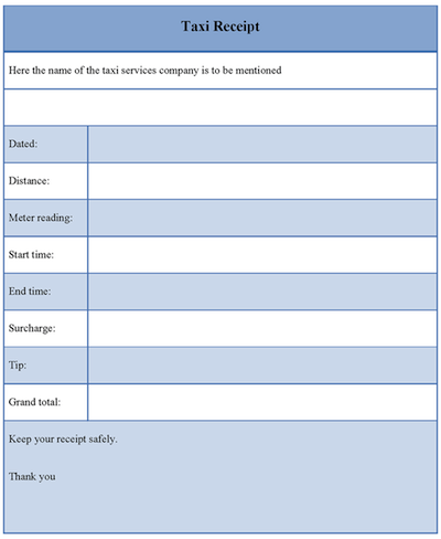 download blank taxicab receipt templates pdf wikidownload