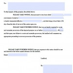 Download Fillable 30 Day Notice Templates - For Landlords - For ...