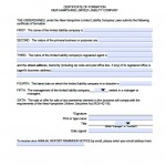 Download New Hampshire Llc Articles Of Organization Forms