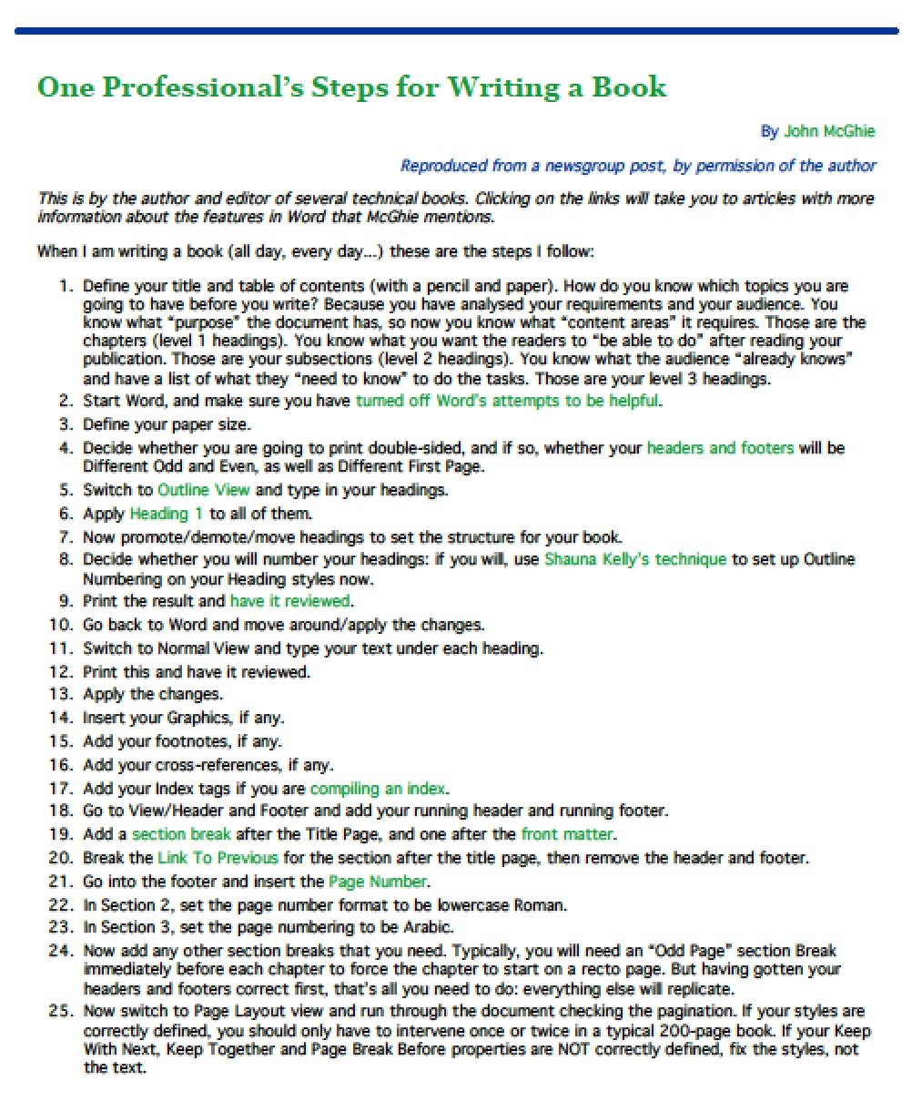 book outline template microsoft word - Ideal.vistalist.co