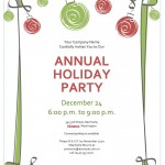 Office Holiday Party | Word