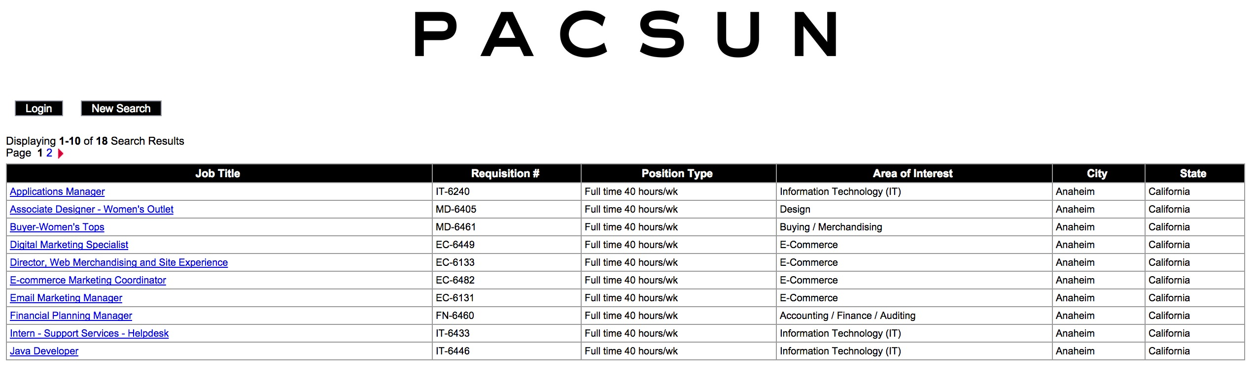 pacsun job application pdf Download PacSun Job Application Form | PDF Template wikiDownload