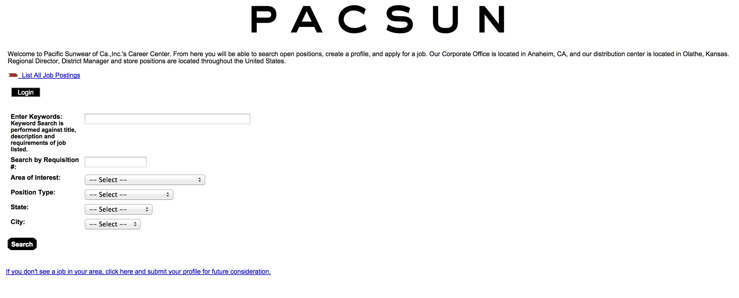 pacsun job application form pdf template wiki pacsun online job postings page