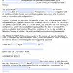 Download Pennsylvania Eviction Notice Forms | Notice to Quit | PDF ...