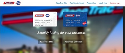 Online Credit Card Application Start Page