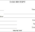 download blank taxi/cab receipt templates | pdf wikidownload, Invoice templates